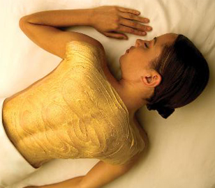 Gold Body Mask